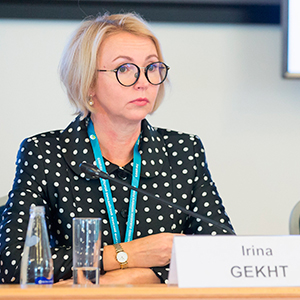 Irina Gekht notes role of rural women in country's development