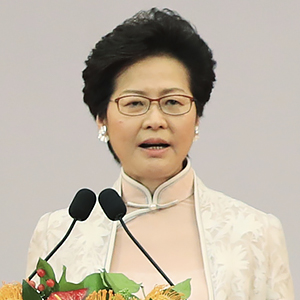CARRIE LAM UNITING HONG KONG AND BEIJING