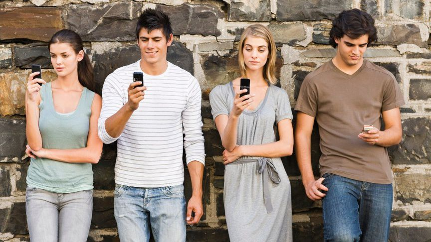 mobile phone todays young generation Site mobile navigation but generation z is the first generation to be raised in the era post a photo on instagram and talk on the phone.