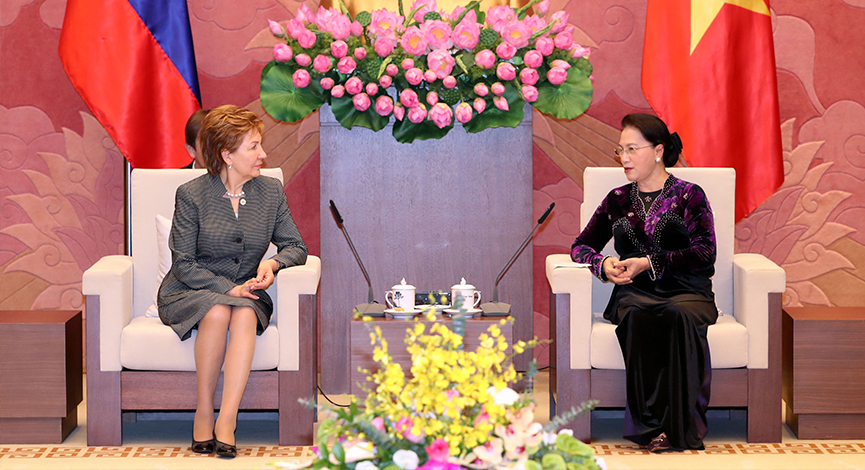 GALINA KARELOVA: RUSSIAN-VIETNAMESE RELATIONS ARE DEVELOPING