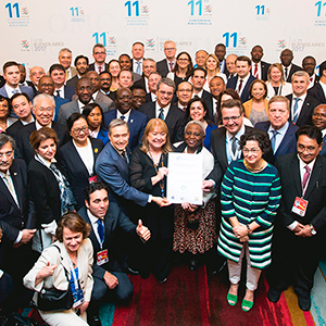 118 COUNTRIES SIGNED DECLARATION ON WOMEN'S EMPOWERMENT