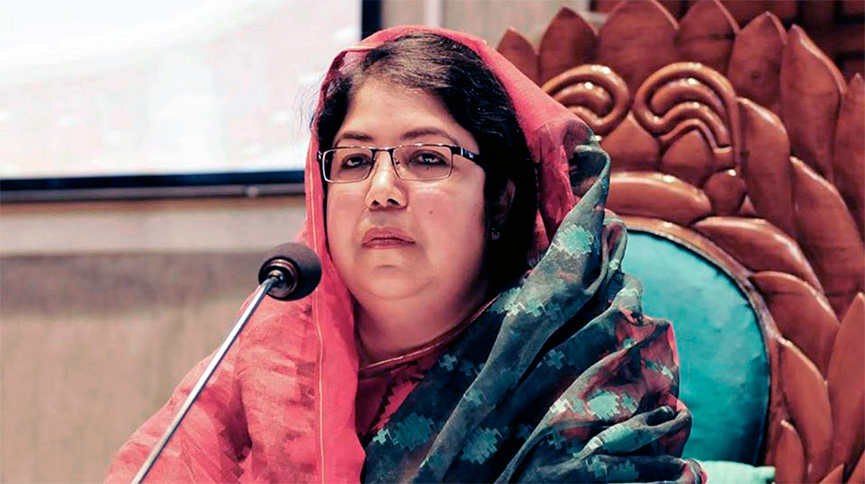 FIRST EVER WOMAN CHAIRING THE BANGLADESHI PARLIAMENT