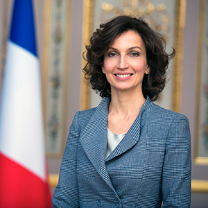 AUDREY AZOULAY PRESERVING WORLD CULTURAL HERITAGE