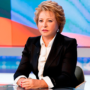 Valentina Matviyenko: The Role of Women in the World. Interview with the Chairwoman of the Council of Federation