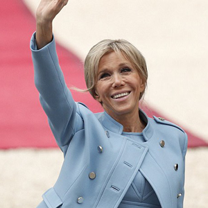 BRIGITTE MACRON: SPECIAL ROLE OF THE PRESIDENT'S WIFE