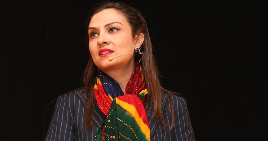 Young Pakistani politician: Marvi Memon