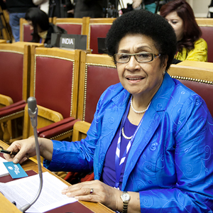 FIRST EVER WOMAN CHAIRPERSON OF FIJIAN PARLIAMENT