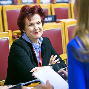 "INGUNA SUDRABA: ""WOMEN IN LATVIA ARE COMPLETELY FREE"""