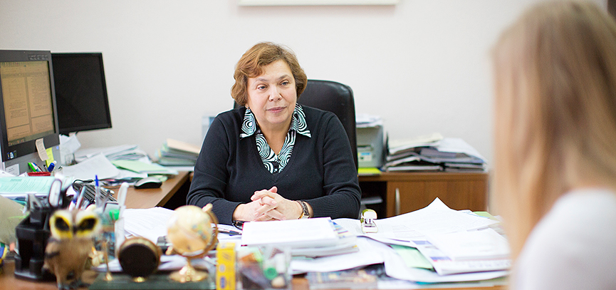 LYUBOV RIMARIOVA: «SCIENCE IS A PERFECT PLACE FOR WOMEN»