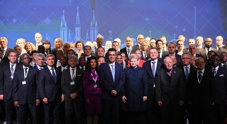 Русская делегация наГенассамблее ООН покинула зал перед выступлением президента Литвы